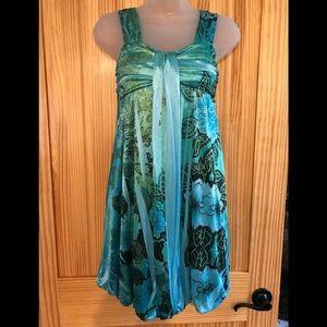 Flouncy Mini Dress